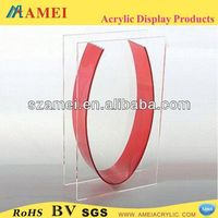 2013 new products crystal clear flower vase plastic flower vase