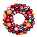 Christmas led battery operated light up outdoor christmas wreath