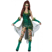 Sexy Poison Ivy Lethal Beauty Justice Villain Costume BWG-2238