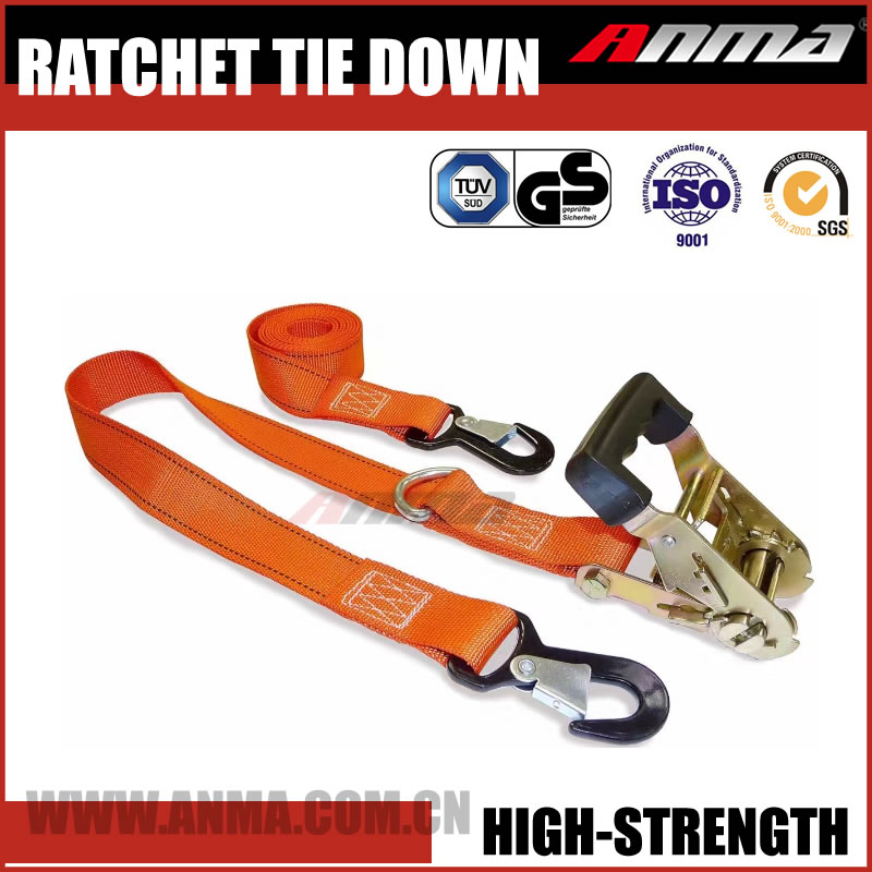 how to get a ratchet strap loosened