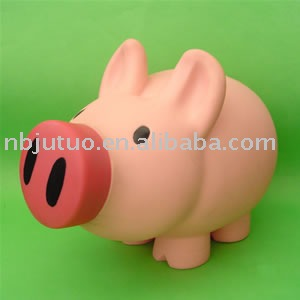 piggy Money Bank and piggy Coin Saver and vinyl money box
