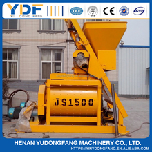 Double-horizontal shaft forcible concrete mixing machine JS1500A concrete mixer