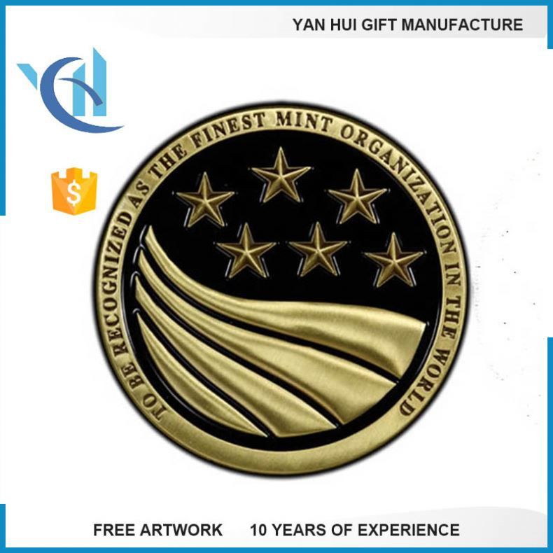 Cheap Customized Metal Challenge Coins Commemorative Coin