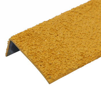 Aluminum Base Abrasive Blasting Stair Tread Nosing for Concrete