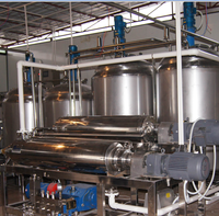 palm vegetable oil shortening / margarine ghee making production line