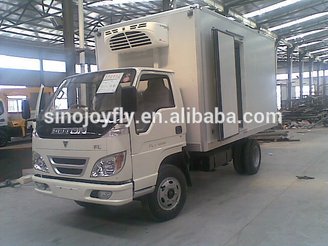 Hot selling fresh meat refrigerated truck/cold van /cooling truck