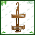 Bathroom caddis Bamboo Hanging bamboo shower Caddy