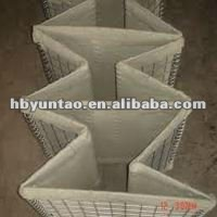 HESCO WIRE BASTION WITH GEOTEXTILE CLOTH
