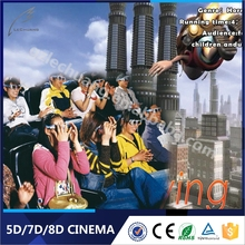 Canton Fair Exclusive Sale Amusement Park Equipment 5D Dynamic Kino