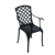 alibaba antique reproduction Outdoor furniture Dining set Cast aluminum Dining chair from China