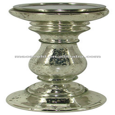 3 tier glass candle holders