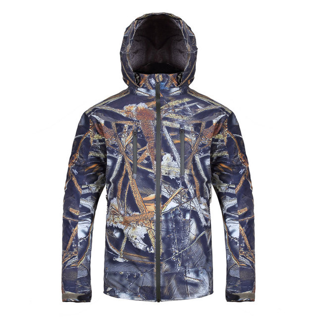 Custom Winter Waterproof Camouflage Hunting Clothes Jacket