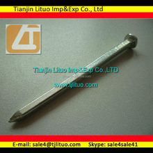 Square body double headed nails polished well factory