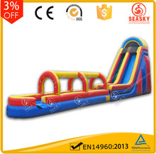Water park slide for kids ,large inflatable water slide for water game