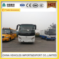 Discount shaolin brand 45 seats desiel bus with automatic bus door system china manufacture