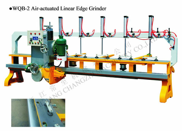 WQB-2 Air-actuated linear edge grinder,grinding machine