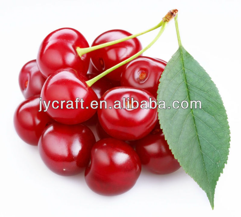Hot sale artificial fruit cherry for decoration