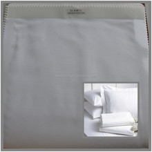 pillow case tc 200 white plain fabric polyester cotton blend