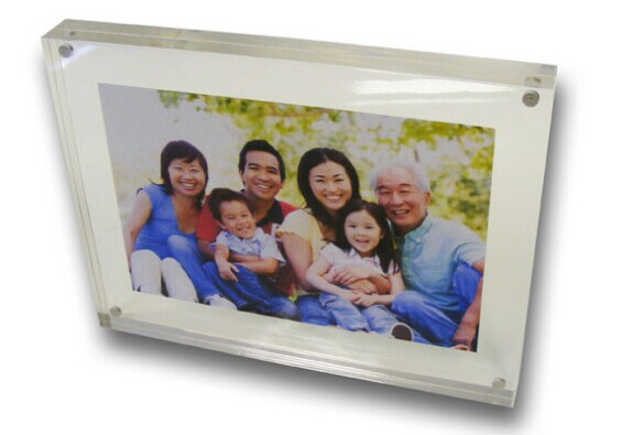 crystal frame photo/funny photo frames/acrylic photo block wholesale