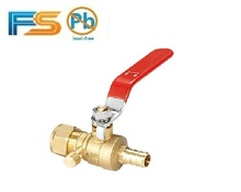 Chemical resistant brass ball valve with strainer price list