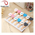 Custom Design Wood Clips Animal Shape Wooden Pegs for Decoration