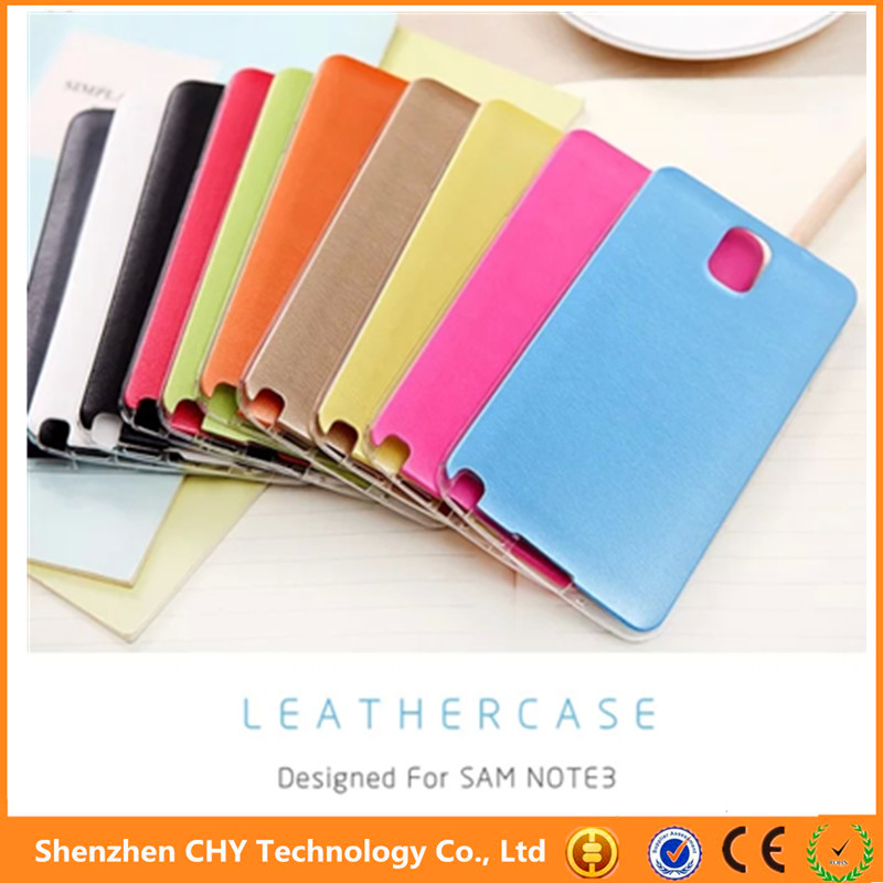 slim leather tpu ultra thin silicone mobile phone case cover for samsung galaxy note 2 n7100