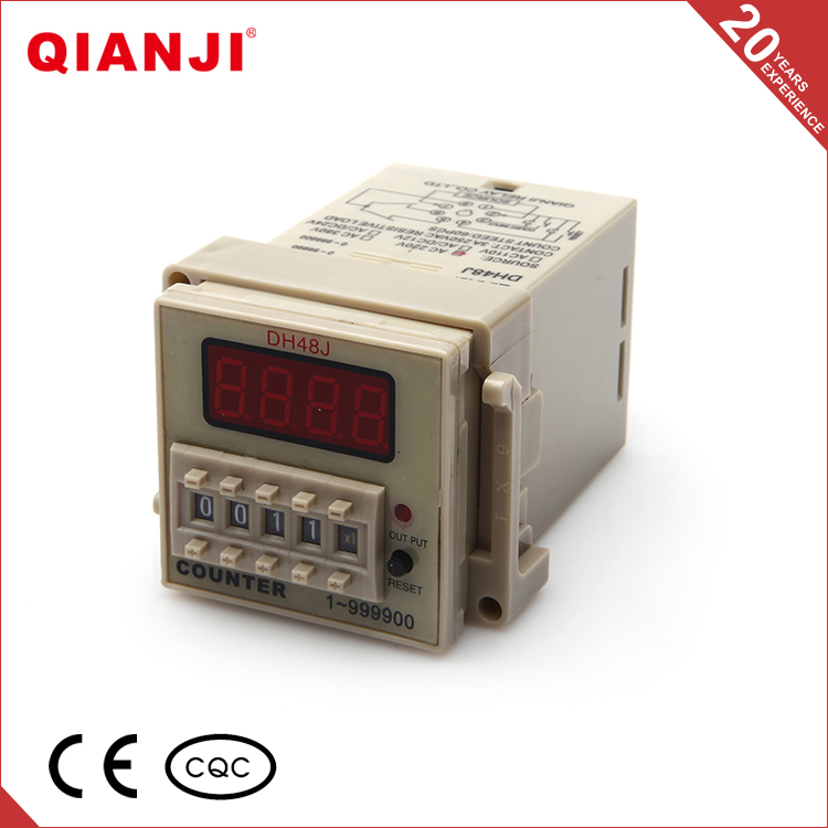 QIANJI Electrical Equipment Supplies DH48J Mechanical Counter Digital Counter