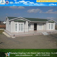 China factory Produce Prefabricated homes/casas prefabricadas/eco friendly mobile homes
