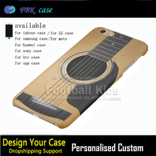 Newest popular 3D Guitar phone case for iphone 6 case 7 7 plus mobile phone