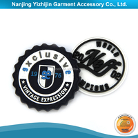 Wholesale oem and odm pvc rubber label for sports shorts