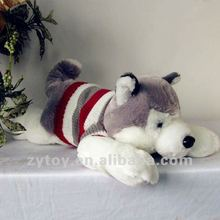 lovely stuffed breathing sleeping dog toy