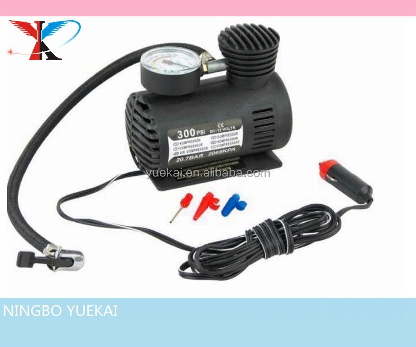 Portable DC 12V car air compressor