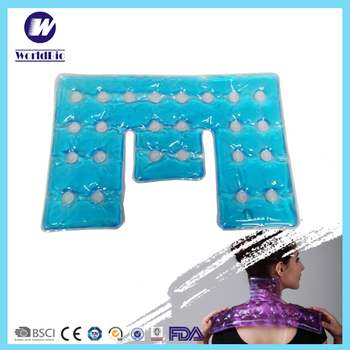 Healthy Medical Big Size Reusable Gel Heat Packs For Shoulder And Neck