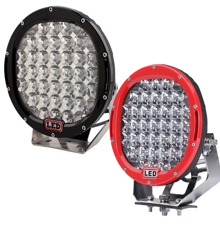 "185W Round 9"" Led Work Light Fog Headlight 12V 24V Off road 4WD 4x4 Led Spot light 185W Led Driving Lighting"
