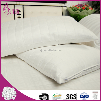 Top quality wholesale silk quilted pillowcase with cotton shell