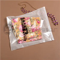 Clear custome Pvc ziplock garment package bag from guangzhou supplier