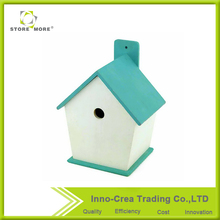Wooden Pine Unique Decoraive Bird House
