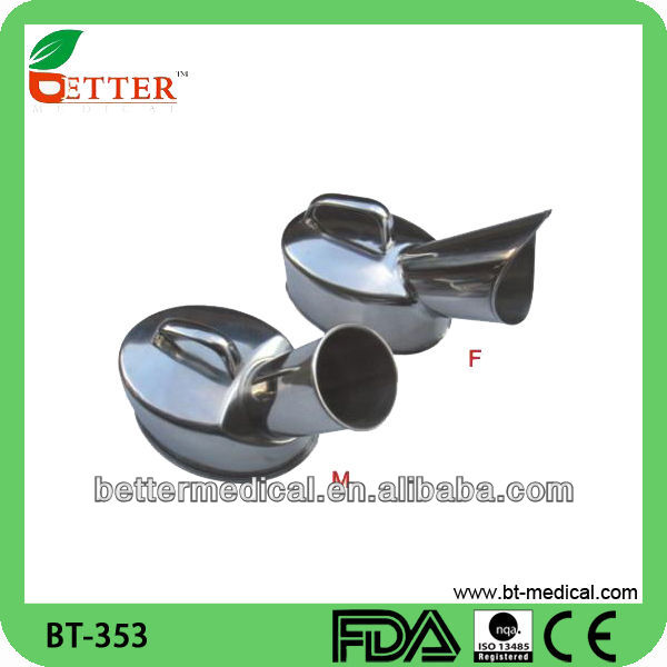 Stainless steel Male and Female urine free standing urinals