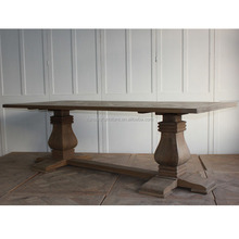 french country style furniture reclaimed solid wood dining table