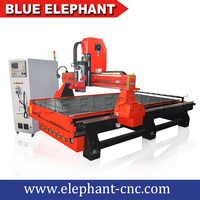 Blue elephant atc tool changer cnc router , 3d furniture machinery woodworking tools