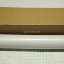 Self adhesive PVC inkjet media Texture Cold laminating film roll
