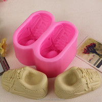 3D Shoes Shaped Handmade Soap Silicone Mold