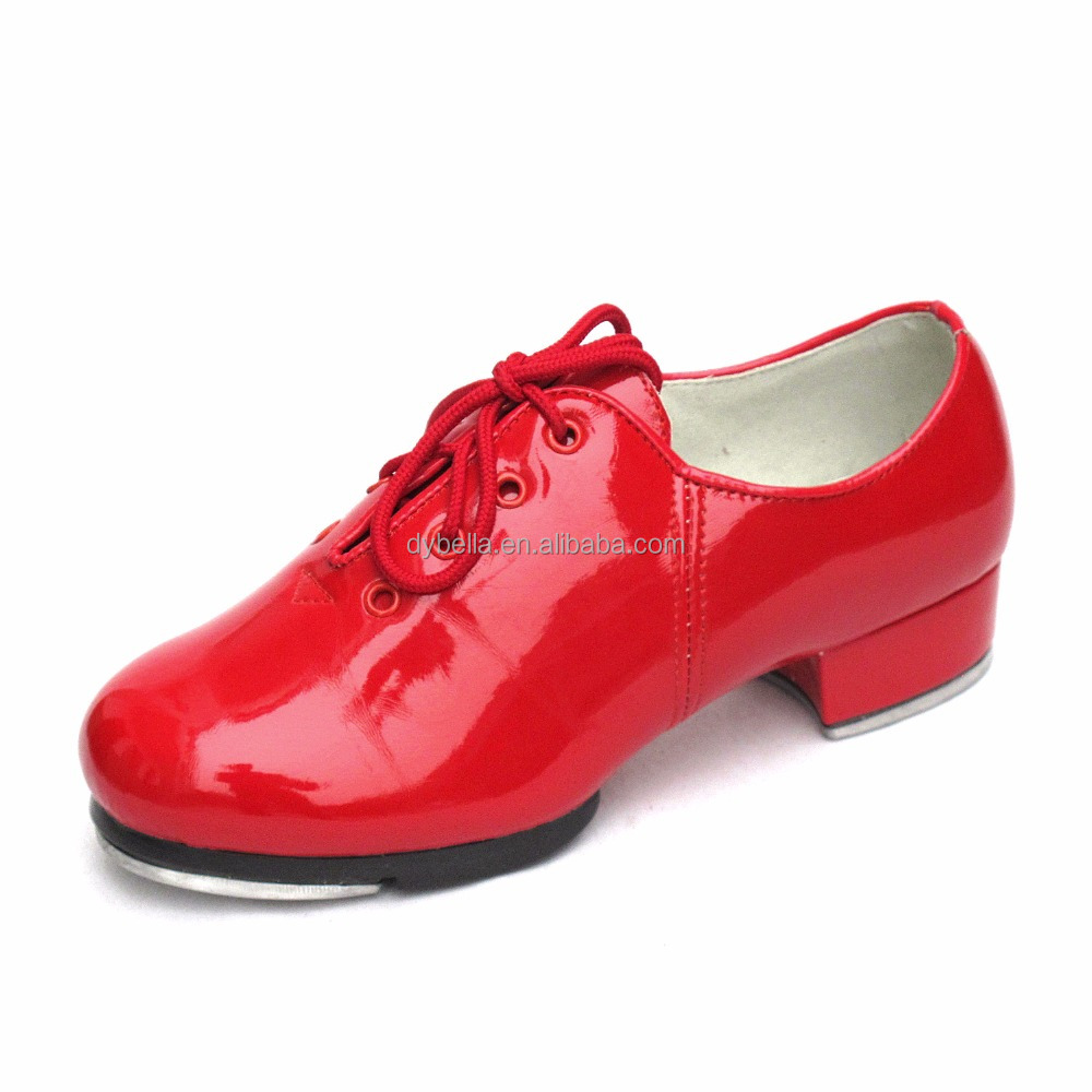 Wholesale red tap shoes for dancing factory supply