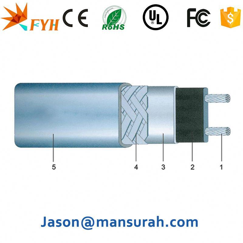 Fire <strong>resistant</strong> lead coated copper cable best seller the heating cable