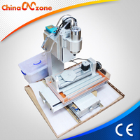 Small hobby 5 axis 3040 cnc machine for wood processing