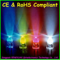 High Quality 5mm led light emitting diodes Blue/Yellow/Red/White ( CE & RoHS )