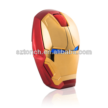 New arrived ! iron man wireless custom mouse rapoo