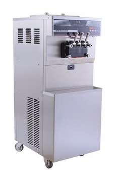 double cylinder best selling cheap ice cream machine for sale with middle capacity China supplier