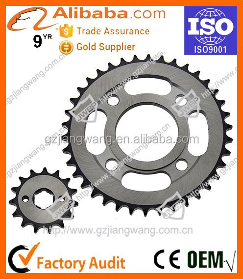Factory Cheap Price High Technologic Motocycle Parts Chain Sprocket