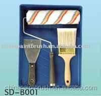 wide used in masonry and decoration industry paint roller set